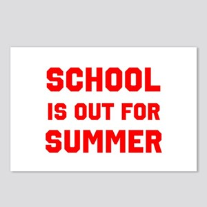 School is Out For Summer Postcards (Package of 8)