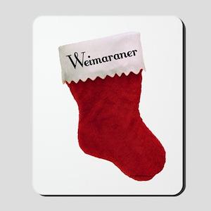 Weimaraner Stocking Mousepad