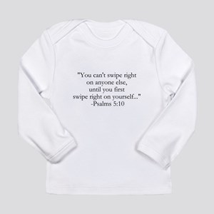Tinder Bible Quote Long Sleeve T-Shirt