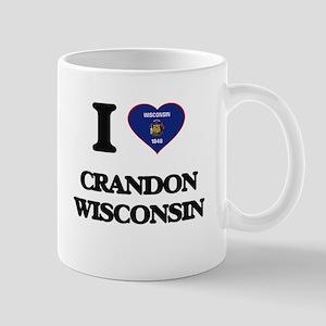 I love Crandon Wisconsin Mugs