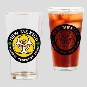 New Mexico Zombie Response Team Drinking Glass