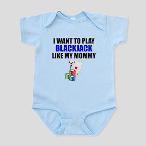 Blackjack Like My Mommy Body Suit