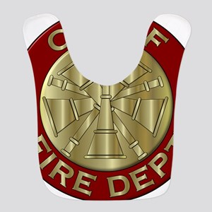Fire chief brass sybol Bib