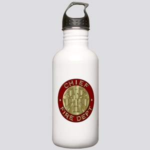 Fire chief brass sybol Stainless Water Bottle 1.0L
