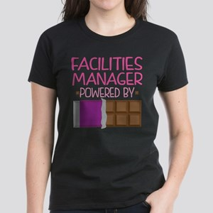 Facilities Manager Women's Dark T-Shirt