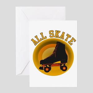 Scott Designs All Skate Greeting Card