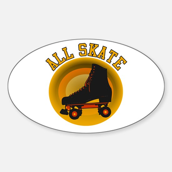 Scott Designs All Skate Oval Decal