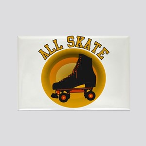Scott Designs All Skate Rectangle Magnet