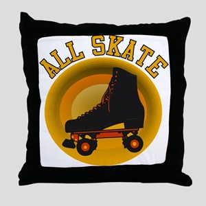 Scott Designs All Skate Throw Pillow