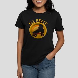 Scott Designs All Skate Women's Dark T-Shirt