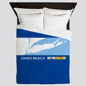 Jones Beach Queen Duvet