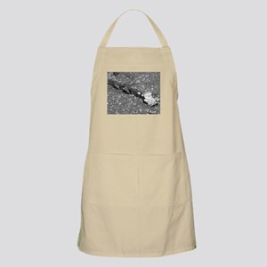 The simplicity of nature in black and white Apron