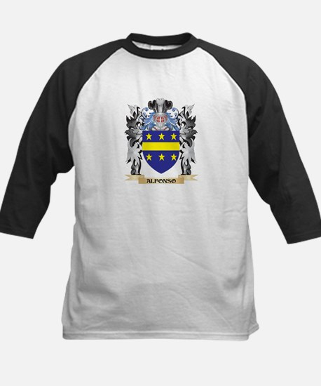 Alfonso Coat of Arms - Family Cres Baseball Jersey