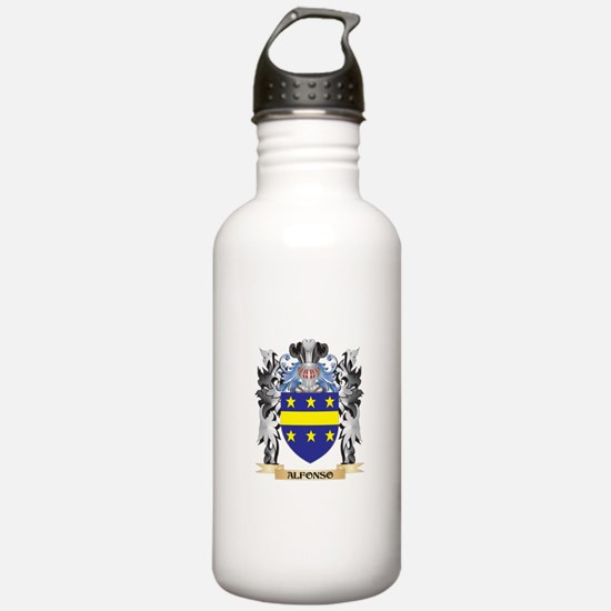 Alfonso Coat of Arms - Sports Water Bottle