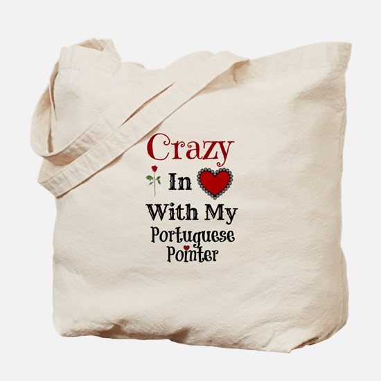 Cute Portuguese pointer Tote Bag