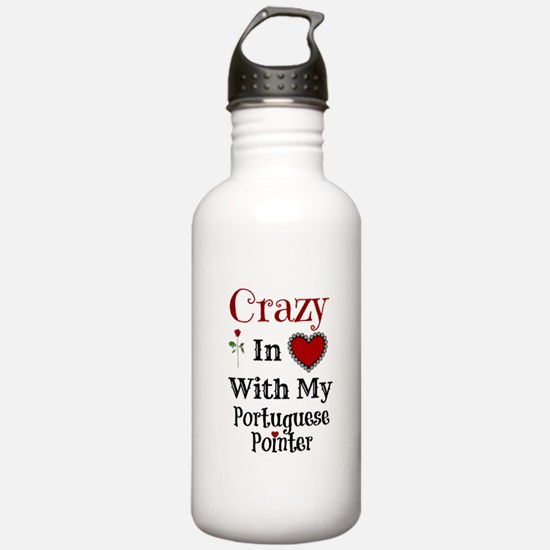 Cute Portuguese pointer Water Bottle