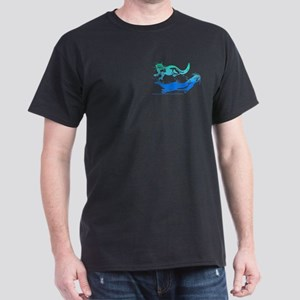 Otters Aquamarine Dark T-Shirt