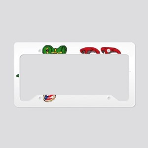 P.R. Pride License Plate Holder