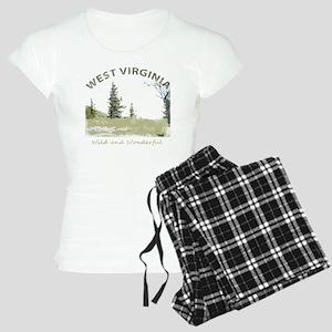 West Virginia Women's Light Pajamas