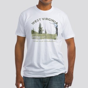 West Virginia Fitted T-Shirt