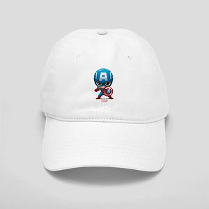 Chibi Captain America Stylized Cap