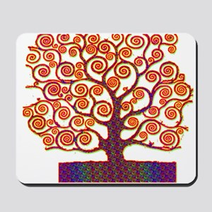 Tree of Life Psychedelic Mousepad