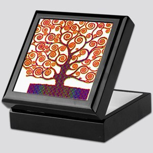 Tree of Life Psychedelic Keepsake Box