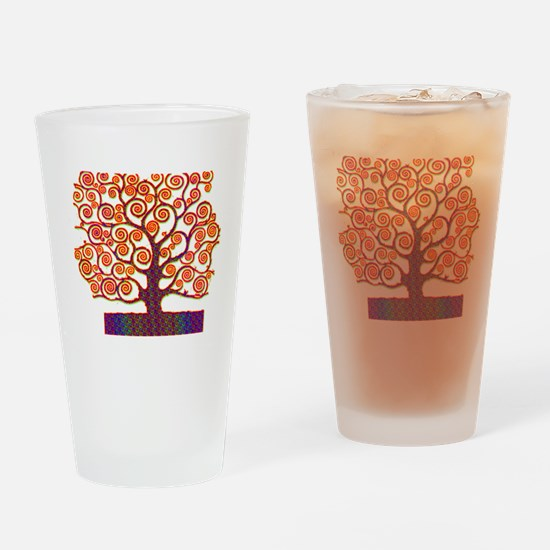 Tree of Life Psychedelic Drinking Glass