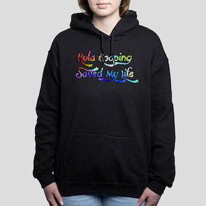 Hula Hooping Saved My Li Women's Hooded Sweatshirt