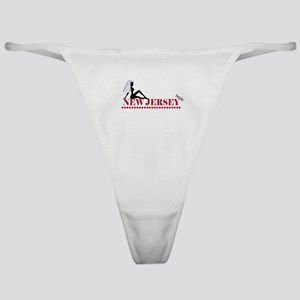 New Jersey Bride Classic Thong