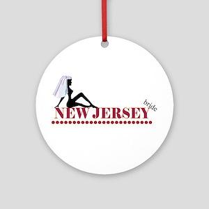 New Jersey Bride Ornament (Round)