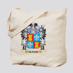 Alonzo Coat of Arms - Family Crest Tote Bag