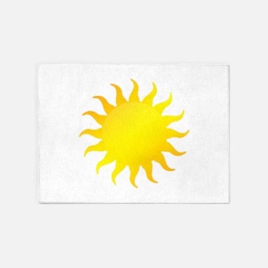 Bright Sunshine (style A) 5'x7'Area Rug