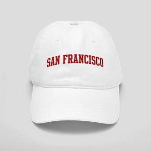 SAN FRANCISCO (red) Cap