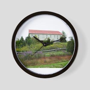 old farm house Wall Clock