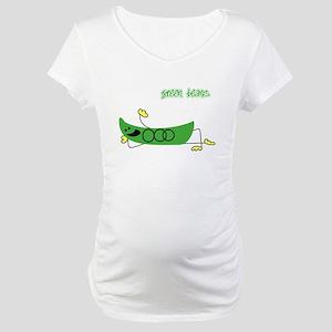 Green Beans Maternity T-Shirt