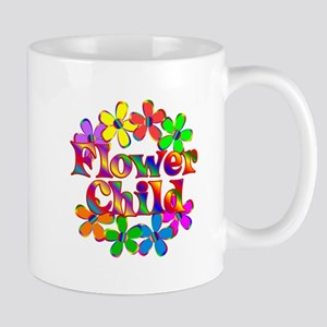 Retro Flower Child Mug