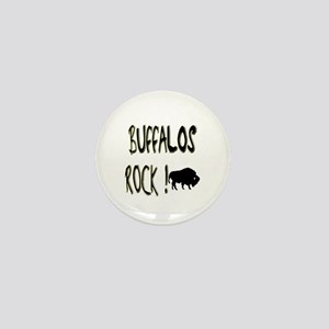 Buffalos Rock ! Mini Button