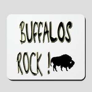 Buffalos Rock ! Mousepad