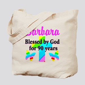 90 YR OLD BLESSING Tote Bag
