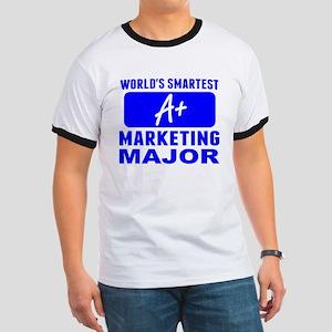 Worlds Smartest Marketing Major T-Shirt