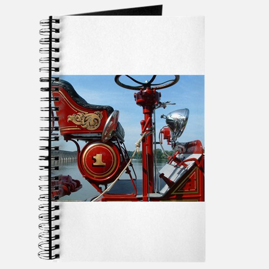 Vintage fire truck Journal