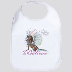 believe fairy moon Bib
