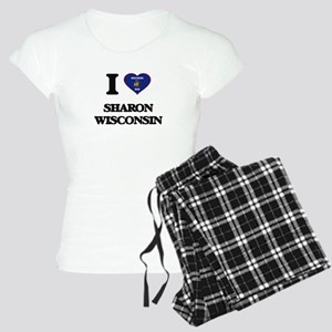 I love Sharon Wisconsin Women's Light Pajamas