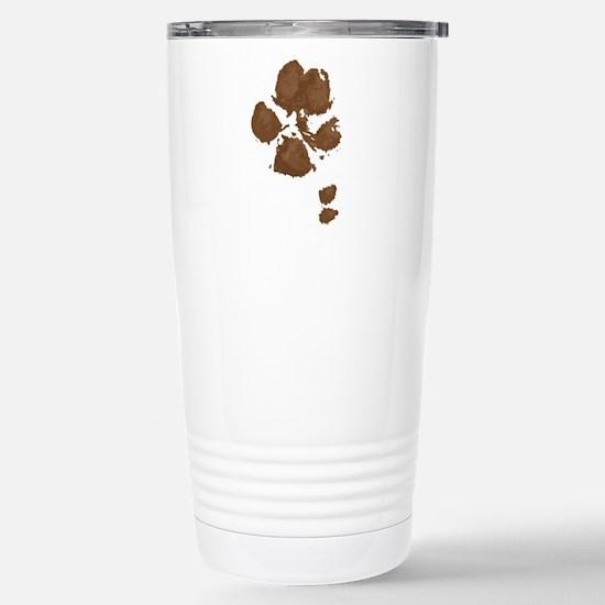 Muddy double dew print Travel Mug