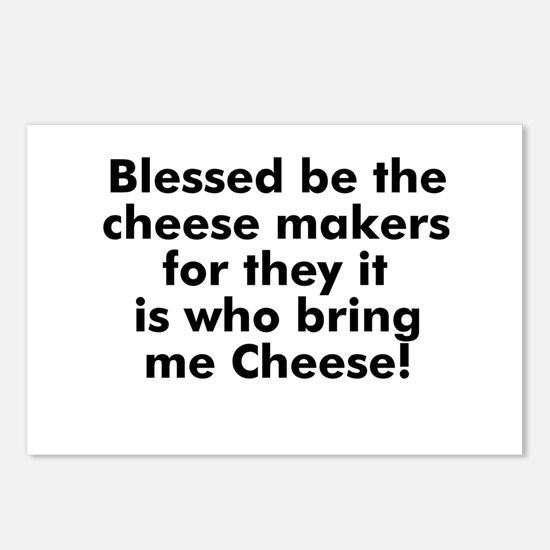 Blessed be the cheese makers  Postcards (Package o