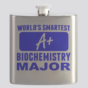 Worlds Smartest Biochemistry Major Flask