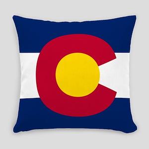 Flag of Colorado Everyday Pillow