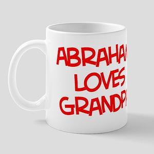 Abraham Loves Grandpa Mug