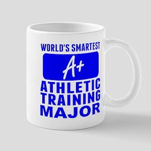 Worlds Smartest Athletic Training Major Mugs
